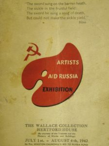 Artists Aid Russia Exhibition London 1942