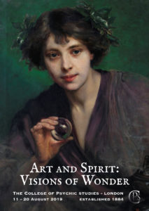 Art & Spirit: Visions of Wonder Exhibition at the College of Psychic Studies, London 2019